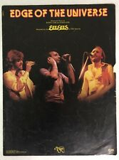 Vintage Sheet Music - Bee Gees - Edge Of The Universe-1975-Guitar/Vocal- 6 Pages