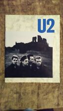 U2 Unforgettable Fire tour program