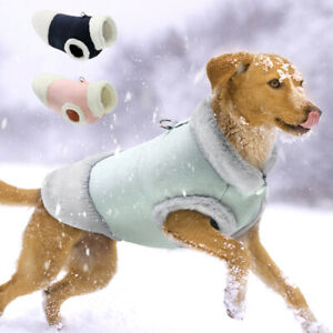 Comfortable Fleece Pet Coat for Dog in Cold Winter Dog Jacket Vest Clothes S-XL