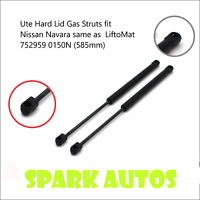 Ute Hard Lid Gas Struts fit Nissan Navara same as  LiftoMat 752959 0150N (585mm)