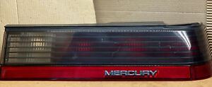 1985-1986 MERCURY COUGAR TAIL LIGHT RH PASSENGER SIDE STORED INDOORS MANY YEARS