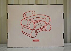 SUPREME Inflatable Chair Clear box logo camp cap F/W 18