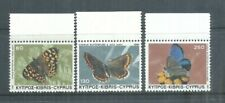 CYPRUS STAMPS COMPLETE SET BUTTERFLIES 1983 MNH