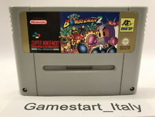 SUPER BOMBERMAN 2 - SUPER NINTENDO SNES - SOLO CARTUCCIA CARTRIDGE ONLY - PAL