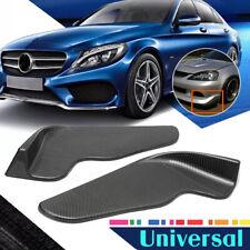 Universal Carbon Fiber Look Car Front Bumper Spoiler Lip Canard Diffuser