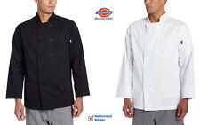 Dickies Chef Giovanni Classic Chefcoat 10 Button Unisex Jacket Cotton Dc119