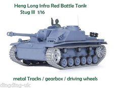 Heng Long radio control Infra Red RC IR tank Stug III 1/16 Smoking  Sounding UK