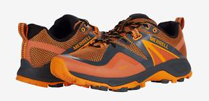 Merrell MQM Flex 2 Hiking Shoe Mens Size 9 Orange Lightweight NIB