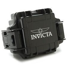 Invicta One (1) Slot Black Waterproof Collector's Dive Case/Watch Box