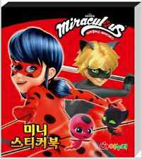 24 Sheets Mini Sticker Collection Miraculous Ladybug Animation Kids Toy Gift Fun