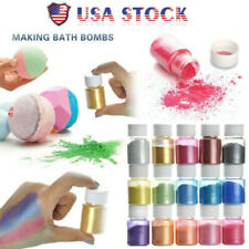 15 Color Organic Mica Pigment Powder, Epoxy Resin Dye, DIY Craft Project Slime