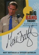 Big Bang Theory Seasons 6 & 7 Autograph Card MBA1 Matt Battaglia as Officer
