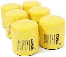 Superb 6 Pack Genuine 52 050 02S Kohler Professional Oil Filter