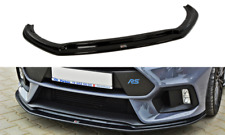 FRONT DIFFUSER VER.3 (GLOSS BLACK) FORD FOCUS MK3 RS (2015-UP)