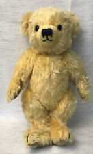 Vintage Merrythought Teddy Bear Golden Mohair Made In England