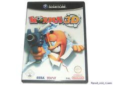 ## Worms 3D (German) Nintendo Gamecube /Gc Game - Top##
