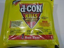 D-CON Ready Mixed (1) 3oz Pellet Bait Tray DCON Mouse Rat Poison
