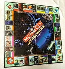 Monopoly Star Wars Classic Trilogy Replacement Game BOARD ONLY Parts Pieces 1997
