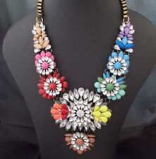 Choker Rhinestone Chunky Costume Necklaces & Pendants