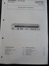 Original Service Manual Blaupunkt Tuner T-3300