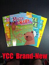 KAPPA Activity Books-Maze Craze / VOL.5, VOL.6, VOL.7, & VOL.8 - 4 pk
