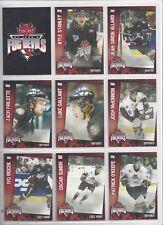 2005-06 St. John's Fog Devils (QMJHL) complete 30 card set
