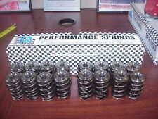 """16 PSI 1.600"""" Roller Cam Valve Springs & Super 7° Titanium Retainers Isky Manley"""