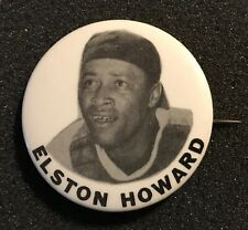 1950's Elston Howard PM10 Pin New York Yankees