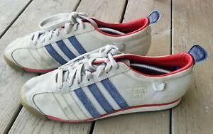 Adidas Original Vintage Chile 62 Suede Gray/Red  Sz 12