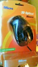 IMICRO 3D OPTICAL 800 dpi  MOUSE - WIRED 5.9 feet  USB -  high resolution
