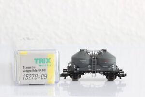 N MINITRIX 15279-09 Staubsilowagen DB Güterwagen boxcar OVP J55