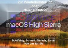 Mac OS High Sierra Bootfähige USB-Stick (zur Wiederherstellung o. Neuinstall.)