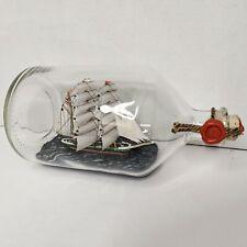 "Ship in a Bottle Rickmer Rickmers (11"" x 5.5"" x 4.5"")"