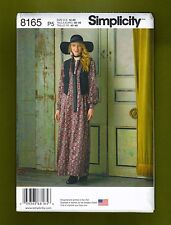 Simplicity Sewing Pattern 8165~ Boho Chic Maxi Dress ~ Vest & Tie (Sizes 12-20)