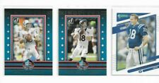 New listing [3] 2021 Donruss Football Peyton Manning MIX INSERT + SP CARD LOT - HOF INDUCTED