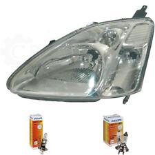 Scheinwerfer links für Honda Civic Sedan/Coupe 03.01-09.03 H1/H7 mit Motor