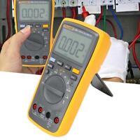FLUKE 17B+ F17B+ AC DC Auto Range Digital Multimeter With Test Leads Soft Case
