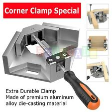 Aluminium Single Handle 90 Degree Right Angle Clamp Photo Frame Corner Clip USA
