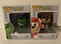 Funko Pop! Animation Hanna Barbera Sneezly & Weezly Vinyl Figure Lot