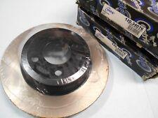 BMW X3 2004-2011 Premium Front Brake Disc Rotor Set of (2) Powder Coated Black