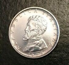 500 Lire argento 835 Michelangelo 1975 Repub. Italiana in capsula numismatica
