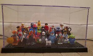 Lego Mini Figures Bundle  + Unofficial display case