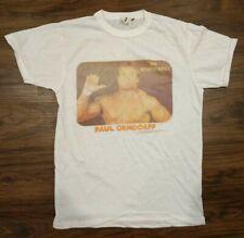 RARE Vintage WWF Mr Wonderful Paul Orndorff Shirt S Small 1987 Original WWE WCW