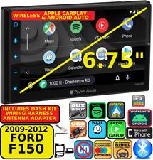 09-14 F150 Wireless Apple Carplay Android Auto Navigation Bluetooth Car Radio