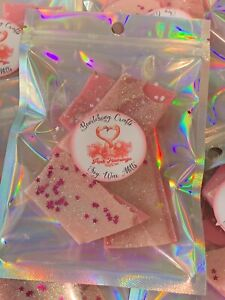 Pink Flamingo Soy Wax Melt Brittle Bag Gift Highly Scented Free P&P Sweet Scent