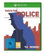 Microsoft XBOX - One XBOne Spiel ***** This is the Police - Polizei **NEU*NEW*55