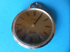 Savonette Uhr, CHAMON Quartzwerk, ca. 1980, Messing, super Zustand, mit Batterie