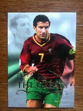2011 Futera Unique Greats Soccer Card - Portugal FIGO Mint