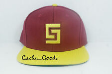 Crooks & Castles Snapback Iron Man Orange
