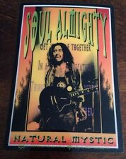 Bob Marley Soul Almighty Natural Mystic 1995 Sticker Brand New